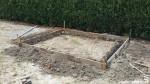 Betonplaat tuinhuis