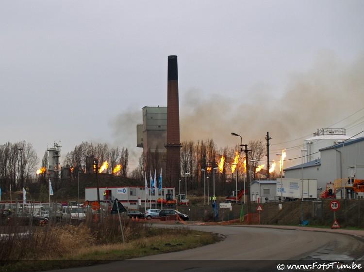 Stroompanne Arcelor Mittal te Gent