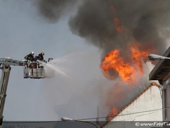 Uitslaande brand speelgoedwinkel Zelzate